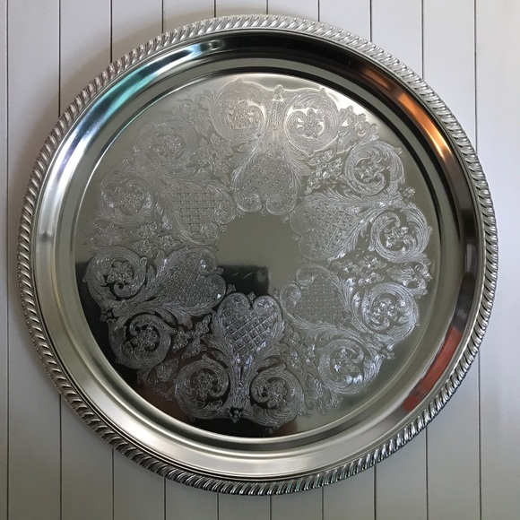 Kensington Silver Platter